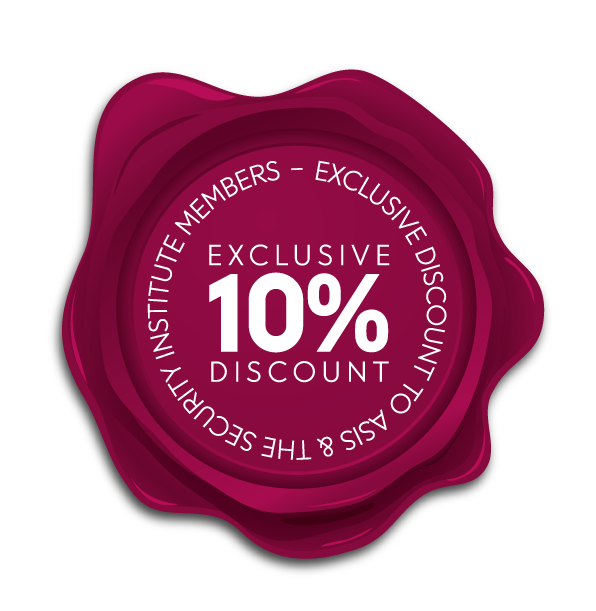 10% discount for SYI & ASIS members